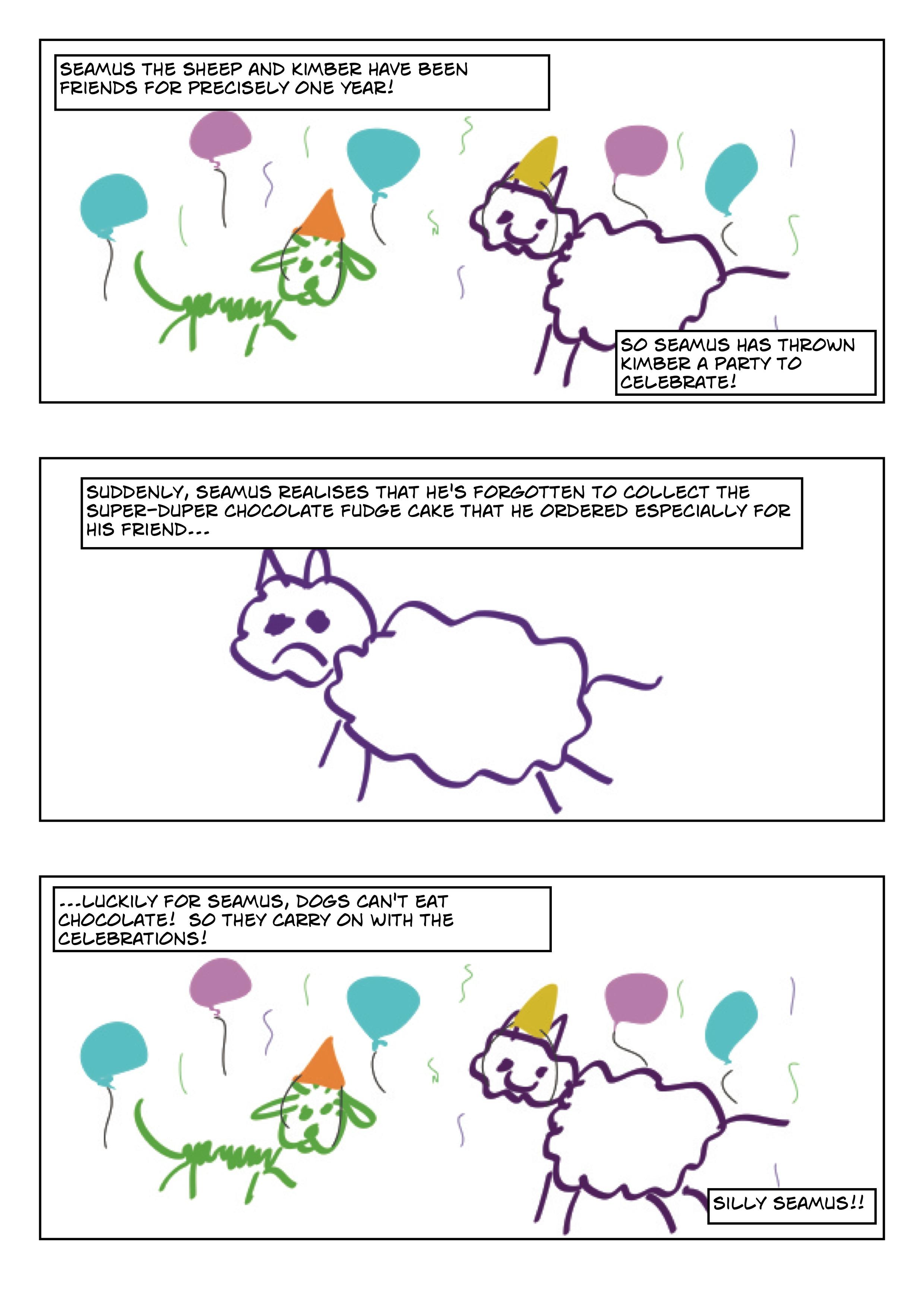 one year celebration comic2
