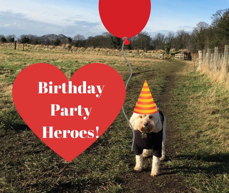 My Mum's Birthday Party Heroes